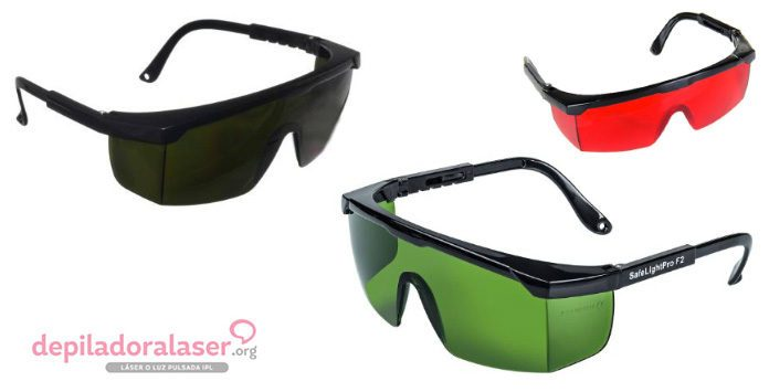 Gafas De Protección Para La Depilación Láser O Ipl Depiladora Láser